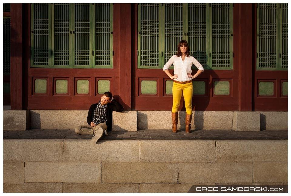 Seoul Engagment Photographer | Fun Couple Photos