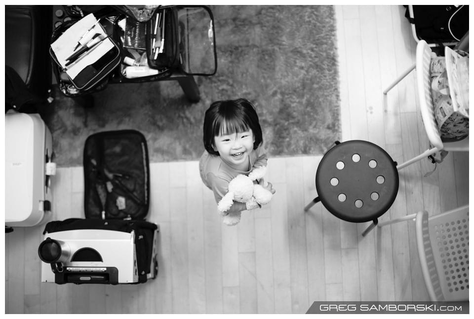 An Afternoon With the Tan Family | Seoul Winter Family Photos Photo