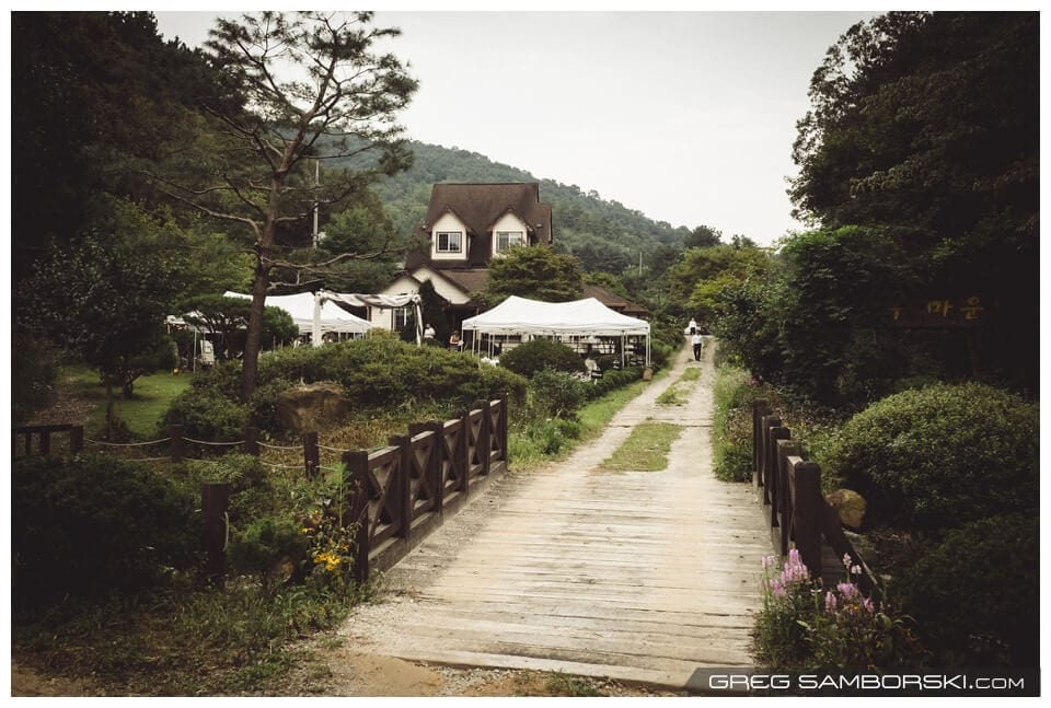 Carolina & Mathieu's Outdoor Korean Wedding
