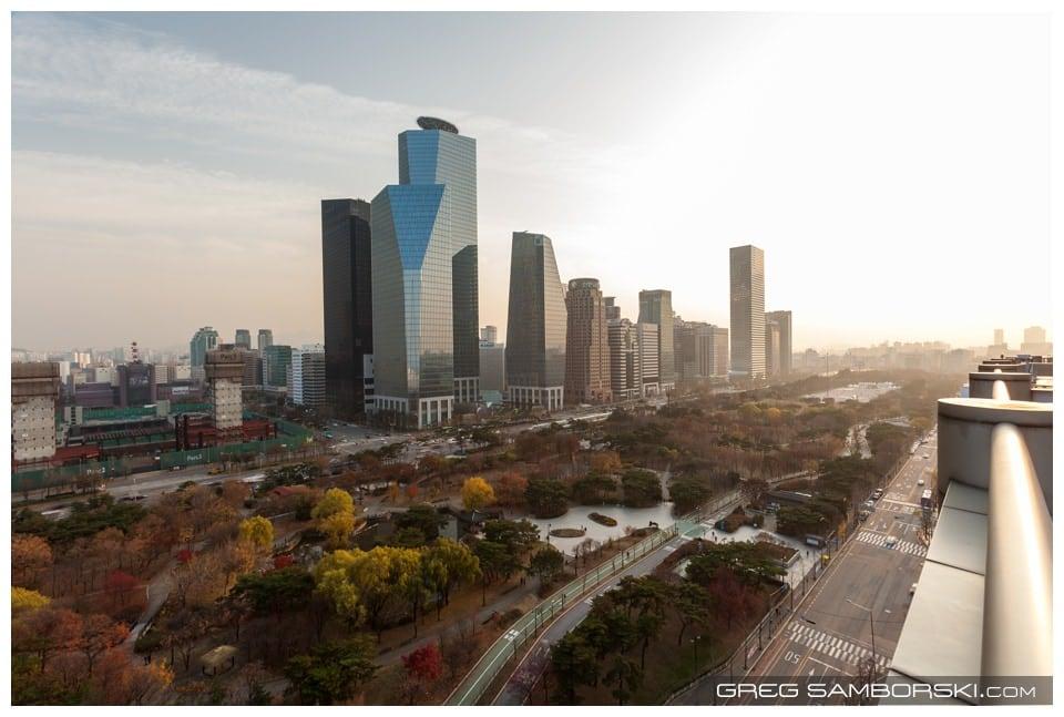 IFC Finance Center Yeouido in Fall