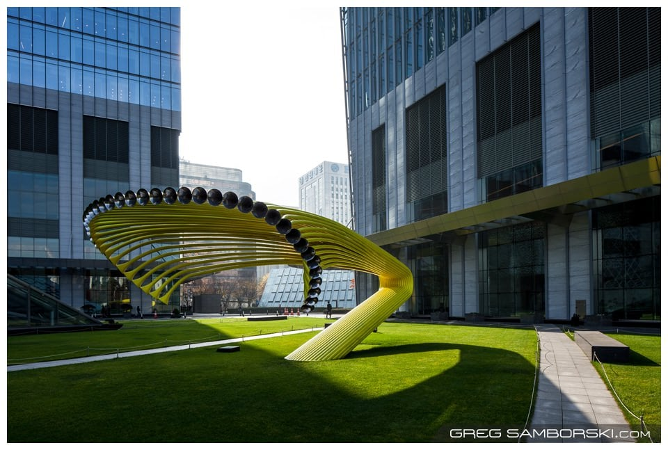 Great Lawn: Silent Propagation by Artist Byoung-ho Kim