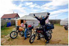 Motorbike Mongolia Yard Ulaanbaatar